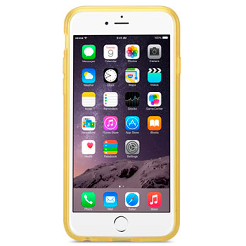 Чехол Melkco  Apple iPhone 6 Poly Ultima Transparent Yellow