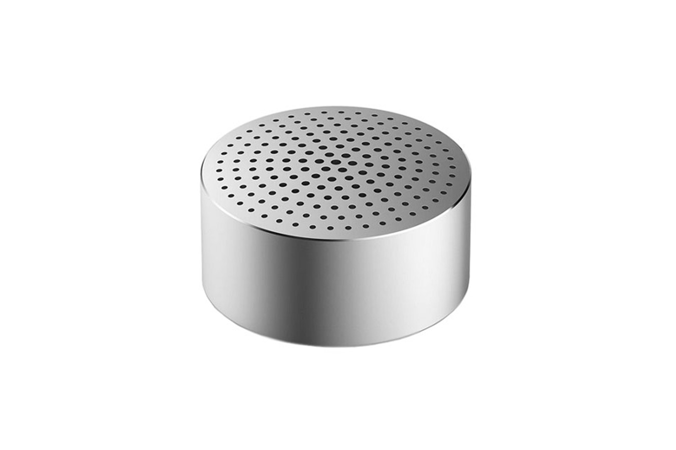 Портативная колонка Xiaomi Mi Portable Round Box Bluetooth Speaker серебристого цвета