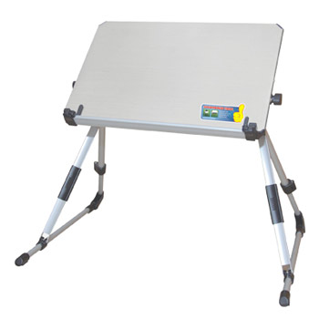 Notebook Table stand Silver 360x240 Подставка под ноутбук (PT-12)